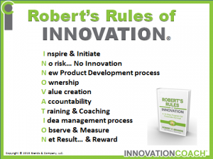 Robert's Rules of INNOVATION